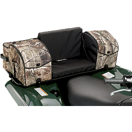 Moose Ridgetop Rear Rack Bag - Realtree - 2008 Yamaha GRIZZLY 350 2X4 Moose Cordura Seat Cover