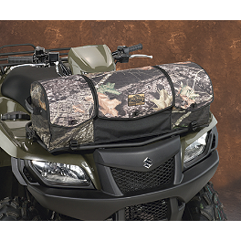 Moose Axis Front Rack Bag - Mossy Oak Break-Up - 2002 Suzuki EIGER 400 4X4 SEMI-AUTO Moose Handguards - Black