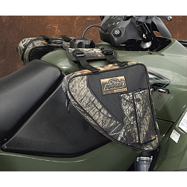 Moose Bighorn Tank Bag - Mossy Oak Break-Up - 2002 Suzuki EIGER 400 2X4 AUTO Moose 393X Front Wheel - 12X7 4B+3N Black