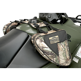 Moose Bighorn Tank Bag - Realtree - 2005 Polaris SPORTSMAN 800 EFI 4X4 Moose 387X Rear Wheel - 12X8 4B+4N Black