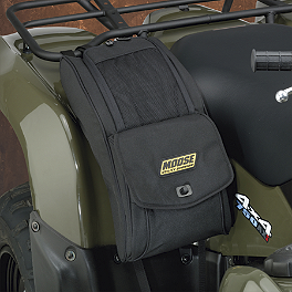 Moose Expedition Fender Bag - Black - 2011 Honda RANCHER 420 4X4 AT POWER STEERING Moose Cordura Seat Cover