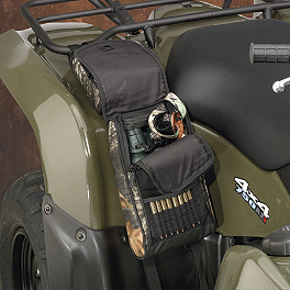 Moose Bighorn Fender Bag - Mossy Oak Break-Up - 2001 Arctic Cat 500 4X4 AUTO Moose Cordura Seat Cover