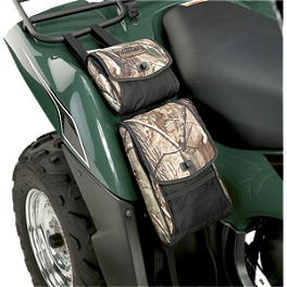Moose Bighorn Fender Bag - Realtree - 2010 Kawasaki BRUTE FORCE 650 4X4 (SOLID REAR AXLE) Moose 387X Rear Wheel - 12X8 2B+6N Black