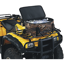 Moose Rack Cooler Bag - Mossy Oak Break-Up - 2007 Yamaha RHINO 660 Moose Plow Push Tube Bottom Mount