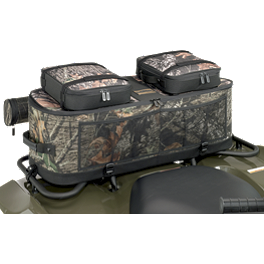 Moose Expedition Rack Bag - Mossy Oak - 2003 Suzuki EIGER 400 4X4 AUTO Moose Handguards - Black