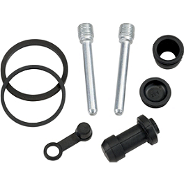 Moose Front Brake Caliper Rebuild Kit - 1995 Yamaha WOLVERINE 350 Moose Tie Rod Upgrade Replacement Tie Rod Ends