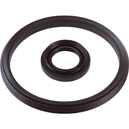 Moose Rear Brake Drum Seal - 2001 Honda RANCHER 350 4X4 Moose 387X Rear Wheel - 12X8 2B+6N Black