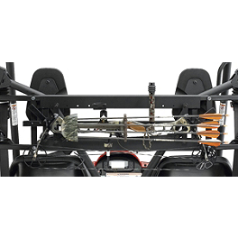 Moose UTV Bow Carrier - Moose Handguards - Black
