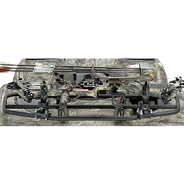 Moose ATV Bow Holder - 2012 Honda RANCHER 420 4X4 AT POWER STEERING Moose Utility Rear Bumper