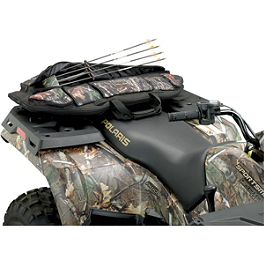 Moose Big Horn Rack Bow Bag - 2001 Polaris RANGER 700 6X6 Moose 393X Front Wheel - 12X7 4B+3N Black