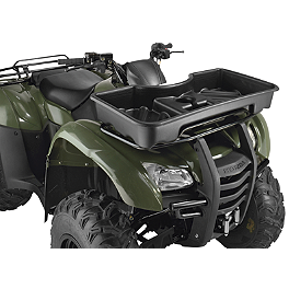 Moose Front Basket - 2013 Suzuki KING QUAD 750AXi 4X4 Moose CV Boot Guards - Front