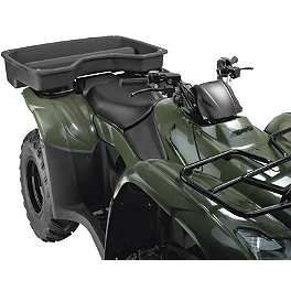 Moose Rear Drop Basket - 2009 Suzuki KING QUAD 400AS 4X4 AUTO Moose Handguards - Black