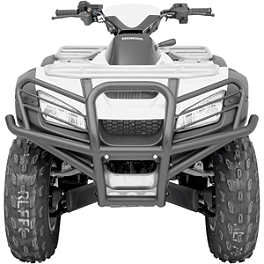 Moose Bumper Caps - 2000 Polaris MAGNUM 500 4X4 Moose Plow Push Tube Bottom Mount