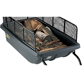 Moose Cargo Tub Sled - Moose Cargo Tub Sled Tow Bar