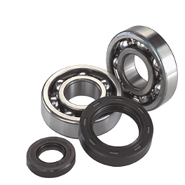 Moose Crank Bearing/Seal Kit - 1986 Suzuki LT250R QUADRACER Moose Tie Rod End Kit - 2 Pack