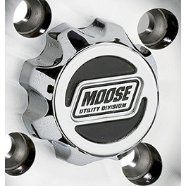 Moose 387X Center Cap - 2012 Can-Am OUTLANDER 400 Moose 393X Front Wheel - 12X7 4B+3N Black