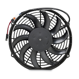Moose OEM Replacement Cooling Fan - 2005 Arctic Cat 650 H1 4X4 AUTO Moose Plow Push Tube Bottom Mount