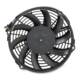 Moose OEM Replacement Cooling Fan - 2008 Can-Am OUTLANDER 500 Moose 387X Center Cap