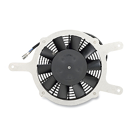 Moose Hi-Performance Cooling Fan - 2000 Yamaha KODIAK 400 2X4 Moose 387X Rear Wheel - 12X8 2B+6N Black