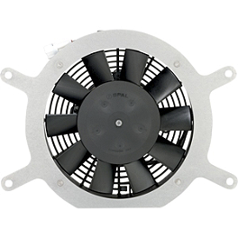 Moose Hi-Performance Cooling Fan - Dual Fans - Quadboss OEM Replacement Radiator Cooling Fan