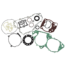 Moose Complete Engine Gasket Set - 2001 Honda TRX400EX Moose Handguards - Black