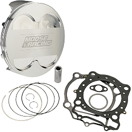 Moose CP Piston Kit 13.5:1 - 2007 Honda TRX450R (KICK START) Moose Clutch Cover Gasket