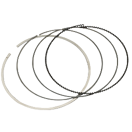 Moose CP Piston Ring Set - 2005 Honda TRX450R (KICK START) Moose Complete Engine Gasket Set