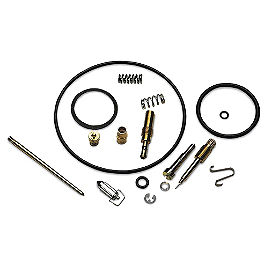 Moose Carburetor Repair Kit - K&N Air Filter