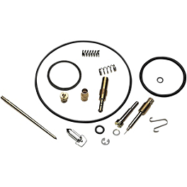 Moose Carburetor Repair Kit - 2007 Honda CRF150F FMF Q4 Spark Arrestor Slip-On Exhaust