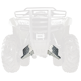 Moose CV Boot Guards - Front - 2007 Yamaha GRIZZLY 350 4X4 IRS Moose Full Chassis Skid Plate