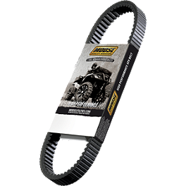 Moose High Performance Drive Belt - 2012 Kawasaki BRUTE FORCE 650 4X4 (SOLID REAR AXLE) Moose 387X Rear Wheel - 12X8 2B+6N Black