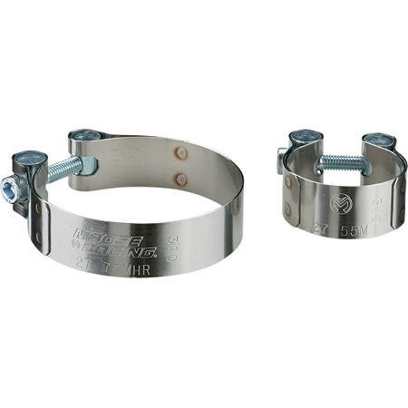 Moose Stainless Exhaust Clamps - Main