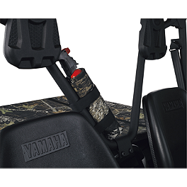 Moose UTV Fire Extinguisher Holder - 2003 Yamaha KODIAK 400 2X4 Moose 387X Rear Wheel - 12X8 2B+6N Black
