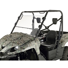 Moose Full Folding Windshield - Moose Multi Windshield