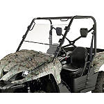 Moose Full Folding Windshield - Utility ATV Body Parts and Accessories