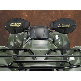 Moose Foam Handguards - 2014 Yamaha GRIZZLY 450 4X4 POWER STEERING Moose 393X Front Wheel - 12X7 4B+3N Black