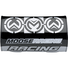 Moose Flex Series Handlebar Pad - 2010 Polaris SPORTSMAN 800 EFI 4X4 Moose 393X Front Wheel - 12X7 4B+3N Black