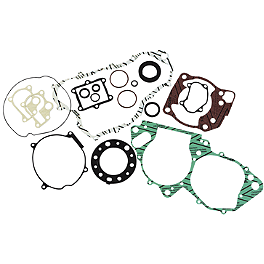 Moose Gasket Set With Oil Seals - 2000 Honda TRX400EX Moose Handguards - Black