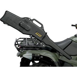 Moose Gun Boot With Mounting Bracket - 2002 Suzuki EIGER 400 4X4 AUTO Moose 393X Front Wheel - 12X7 4B+3N Black