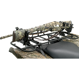 Moose Flexgrip Pro Double Gun Rack - 2011 Honda RANCHER 420 4X4 AT Moose 393X Front Wheel - 12X7 4B+3N Black