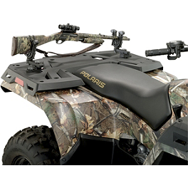 Moose Flexgrip Single Gun & Bow Rack - 2011 Honda RANCHER 420 4X4 AT POWER STEERING Moose Handguards - Black