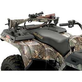 Moose Flexgrip Double Gun & Bow Rack - 2012 Polaris RANGER CREW 500 4X4 Moose 393X Front Wheel - 12X7 4B+3N Black