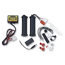 Moose Winter Plus Heated Grips - Thumb Throttle - Moose Lift Kit