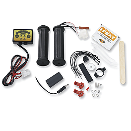 Moose Winter Basic Heated Grips - Thumb Throttle - Moose Winch Switch Kit - 1,700 Pound