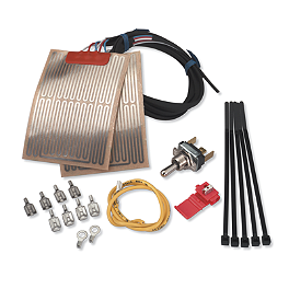 Moose Grip Warmer Kit - 2003 Kawasaki KFX400 Moose Pre-Oiled Air Filter