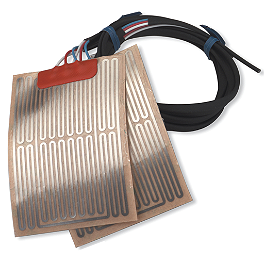 Moose Grip Warmer Element - 2004 Kawasaki MOJAVE 250 Moose Pre-Oiled Air Filter