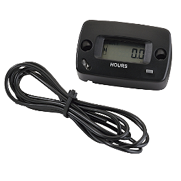 Moose Resettable Hour Meter - 2004 Honda TRX500 RUBICON 4X4 Moose 393X Center Cap