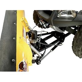Moose Hydraulic Turn Kit - 2009 Honda RANCHER 420 4X4 ES POWER STEERING Moose 393X Front Wheel - 12X7 4B+3N Black