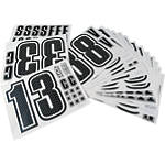 Moose Jersey ID Kit - Moose Dirt Bike Riding Gear
