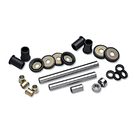 Moose Independent Rear Suspension Bearing Kit - 2011 Yamaha GRIZZLY 350 4X4 IRS Moose 393X Front Wheel - 12X7 4B+3N Black